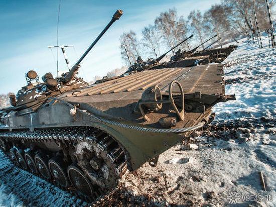 Эшелон военной техники проедет по Кузбассу