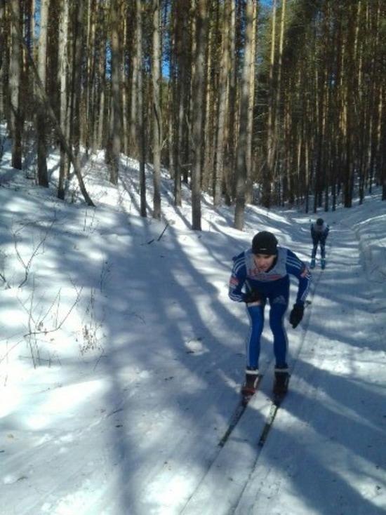В Ульяновской области состоялось первенство по лыжным гонкам