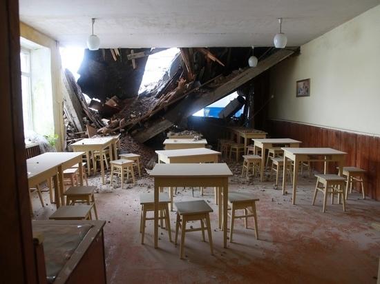 В Чувашии возбудили уголовное дело о халатности после частичного обрушения школы
