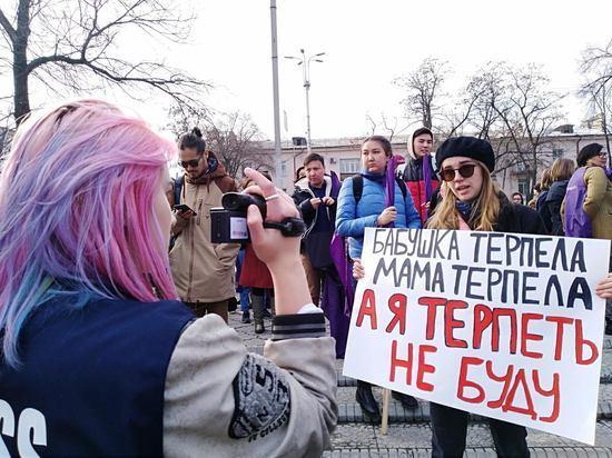 Угрозы и призывы к насилию: какие пороки вскрыл женский марш в КР?