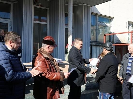 Автобусный парк Липецка пополнился 11 машинами Volgabus
