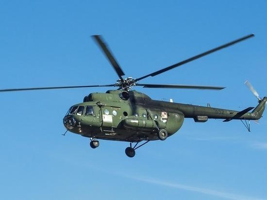 В Бурятии местные жители украли с режимного завода детали вертолета МИ-8