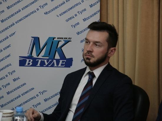 Алексей Ионов рассказал о своих планах на предстоящие выборы в Туле