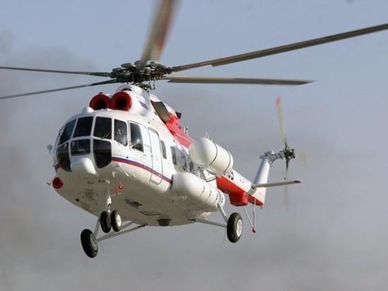 Двух месячных малышей-близнецов срочно вертолётом доставили в Тверь