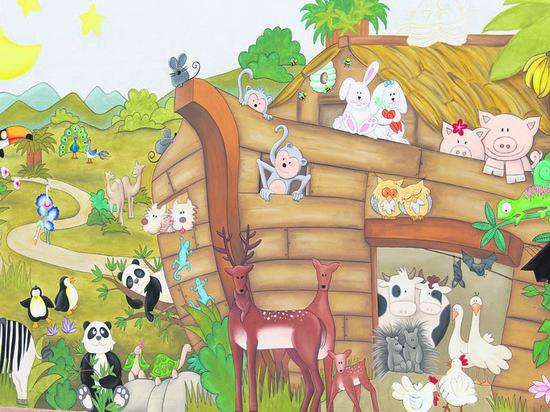В Пыть-Яхе парк «Сказка» предлагают «заселить» фигурами героев сказок и ветхозаветных животных