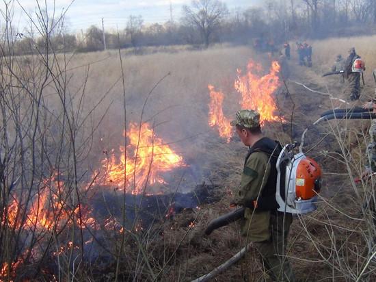 В Калмыкии наступил пожароопасный сезон