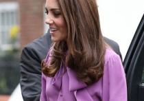 Кейт Миддлтон надела блузку задом наперед и удивила британцев