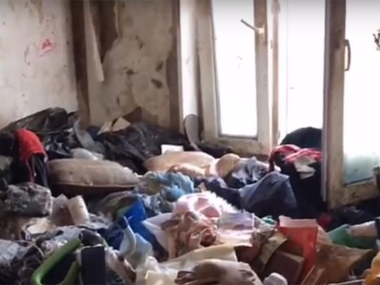 Мать «девочки-маугли» объяснила жуткий бардак в квартире
