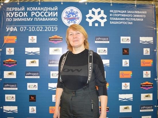 Кемеровчанка успешно выступила во всероссийских соревнованиях по зимнему плаванию