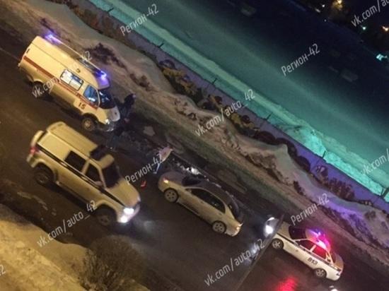 В Кемерове автоледи сбила пожилого пешехода