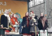 Масленичные гулянья прошли в Нижнем Новгороде на Щелоковском хуторе