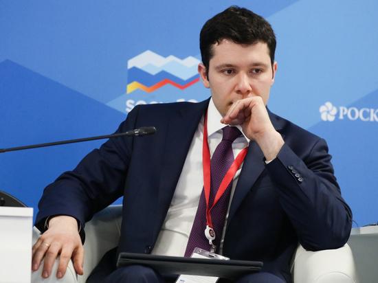 Антон Алиханов — в клубе молодых лидеров ВЭФ