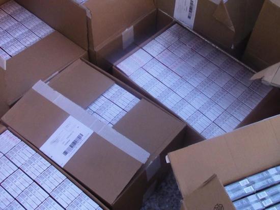 В Мордовии изъяли 25 тысяч пачек подозрительных сигарет