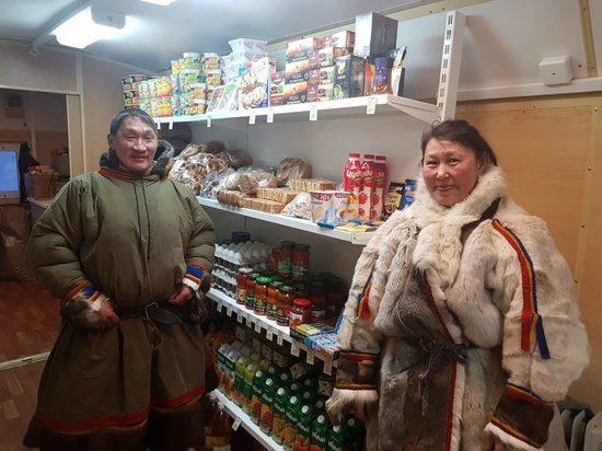 В Тазовском районе открыли магазин для тундровиков