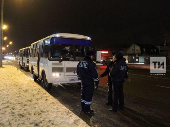В Казани пройдут массовые проверки автобусов