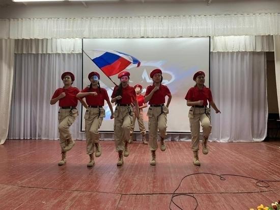 Калмыцкие юнармейки показали класс