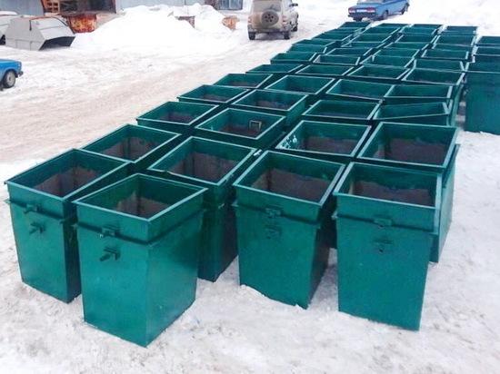В Ульяновской области установят 824 новых мусорных контейнера