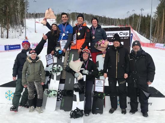 Таштагольские сноубордисты стали призерами чемпионата России