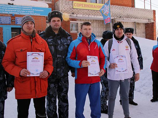 В Чувашии сотрудники ФСИН отпраздновал День здоровья