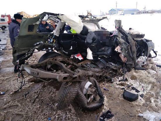 Страшная авария в Башкирии унесла жизни двух человек