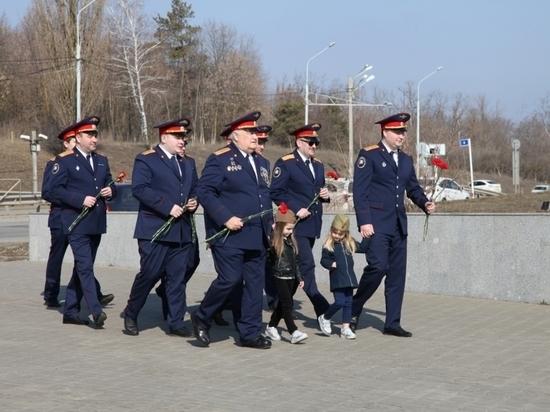 В Ростове прошли торжественные мероприятия в рамках организованной СКР эстафеты «Дорога Памяти»