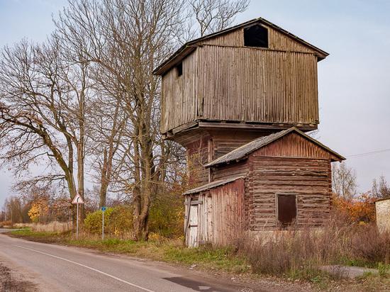 «Избушка» Славска: водонапорная башня Хайнрихсвальде