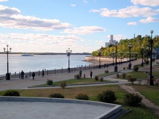 На набережной Хабаровска могут появиться деревянные павильоны