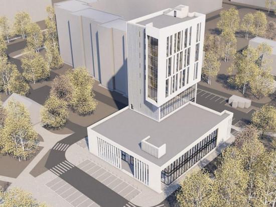 На месте кинотеатра «Искра» в Барнауле построят деловой центр в стиле модерн