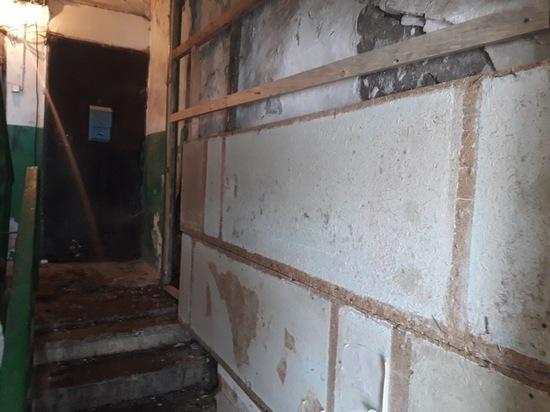 Эксперты не обнаружили угрозы обрушения дома на КСК в Чите