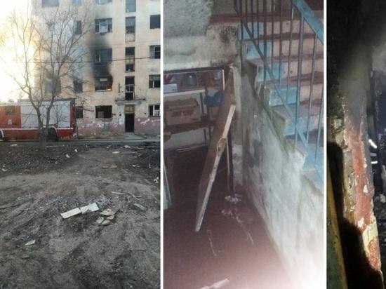 Астраханские спасатели эвакуировали 27 человек из горящего дома