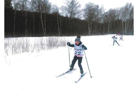 Юные серпуховичи завоевали награды детской лыжной гонки в Пущино