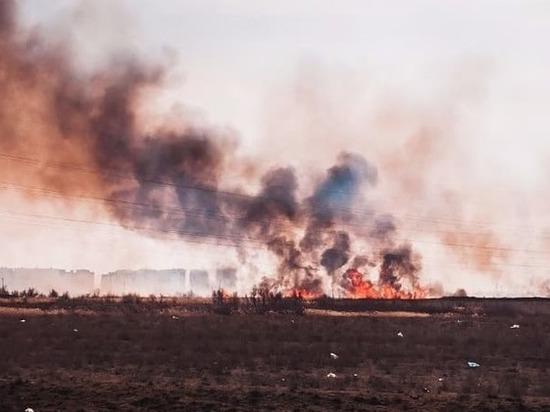Олег Шеин расскажет Сергею Морозову, как бороться с пожарами в Астраханской области