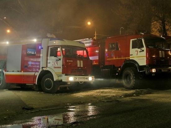 В Смоленске пожарные выезжали по вызову в детский сад