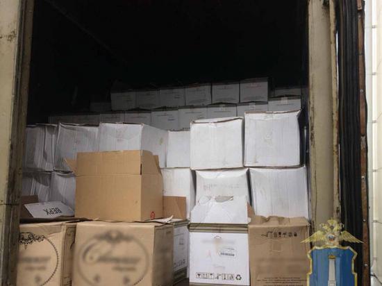 В Ульяновске утилизировали 4,5 тонны контрафактного алкоголя