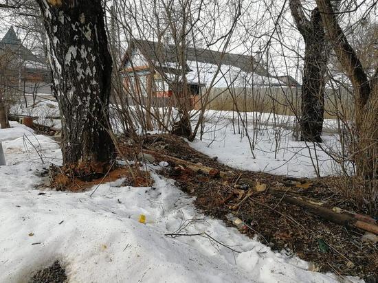 Скелет человека обнаружен возле гаражей в Кондрово