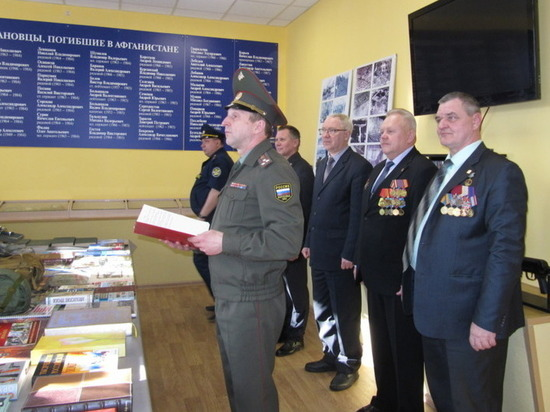 Ребята из военно-патриотических клубов Иваново вступили в Юнармию