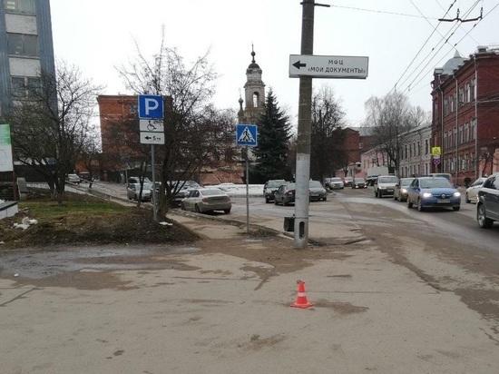 Иномарка сбила 82-летнего дедушку в Калуге