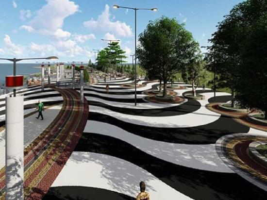 Представлен проект реконструкции набережной в Анапе