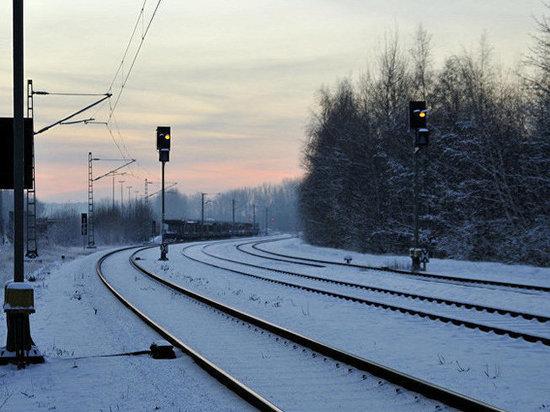 Сотрудницу калужской полиции сбил поезд
