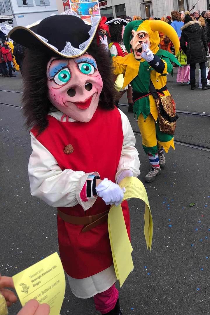 В Базеле прошел фееричный карнавал: Трамп и жуткие маски