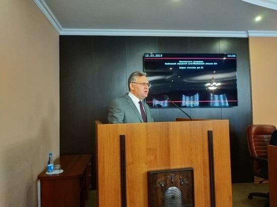 Тамбовские депутаты приняли отставку главы города