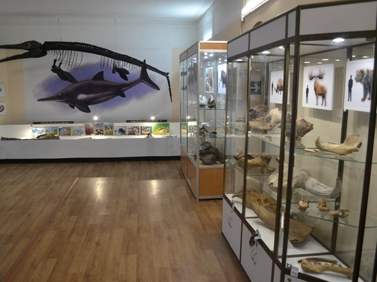 В Ундоровском палеонтологическом музее обновили экспозицию