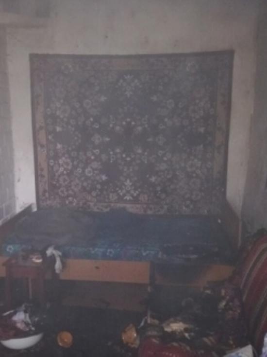 Пожар с пострадавшим: В Тейково загорелась постель в частном доме