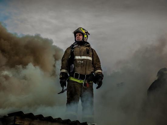 При пожаре в Ульяновской области эвакуировано 30 человек