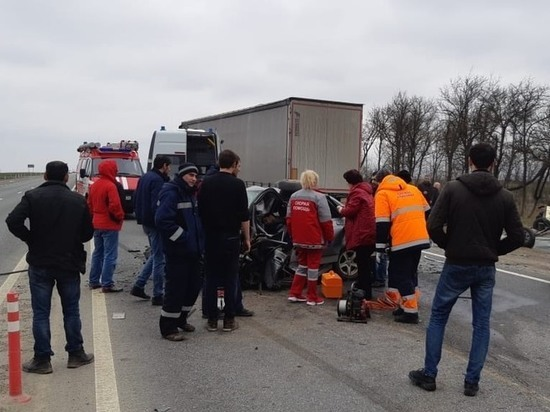 Три человека погибли в автоаварии на трассе «Кавказ»