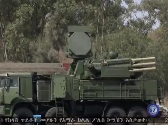 В Эфиопии замечены «Панцирь-С1» российского производства