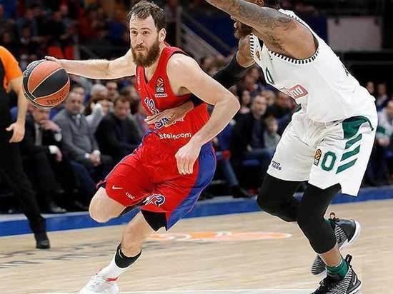 Баскетбол: ЦСКА прервал победную серию в Евролиге