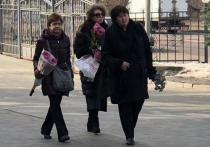 Божена Рынска приехала на похороны Игоря Малашенко