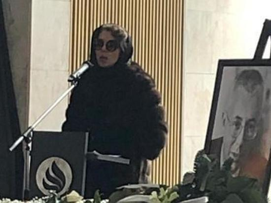 Божена Рынска на похоронах Малашенко сообщила о том, что его убило