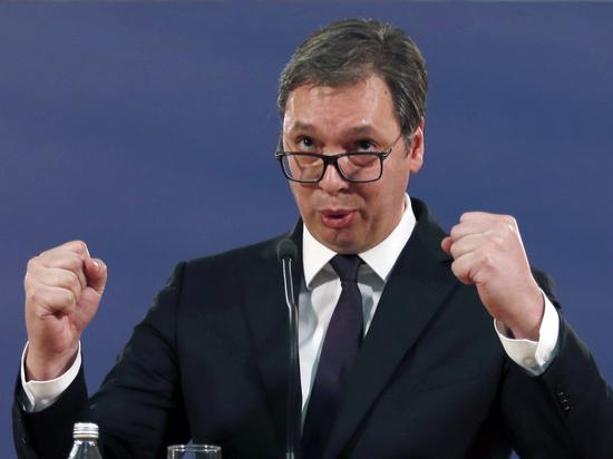 Президент Сербии заявил о готовности жителей Косово защитить Белград